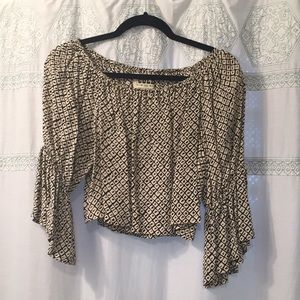Stone Cold Fox silk blouse